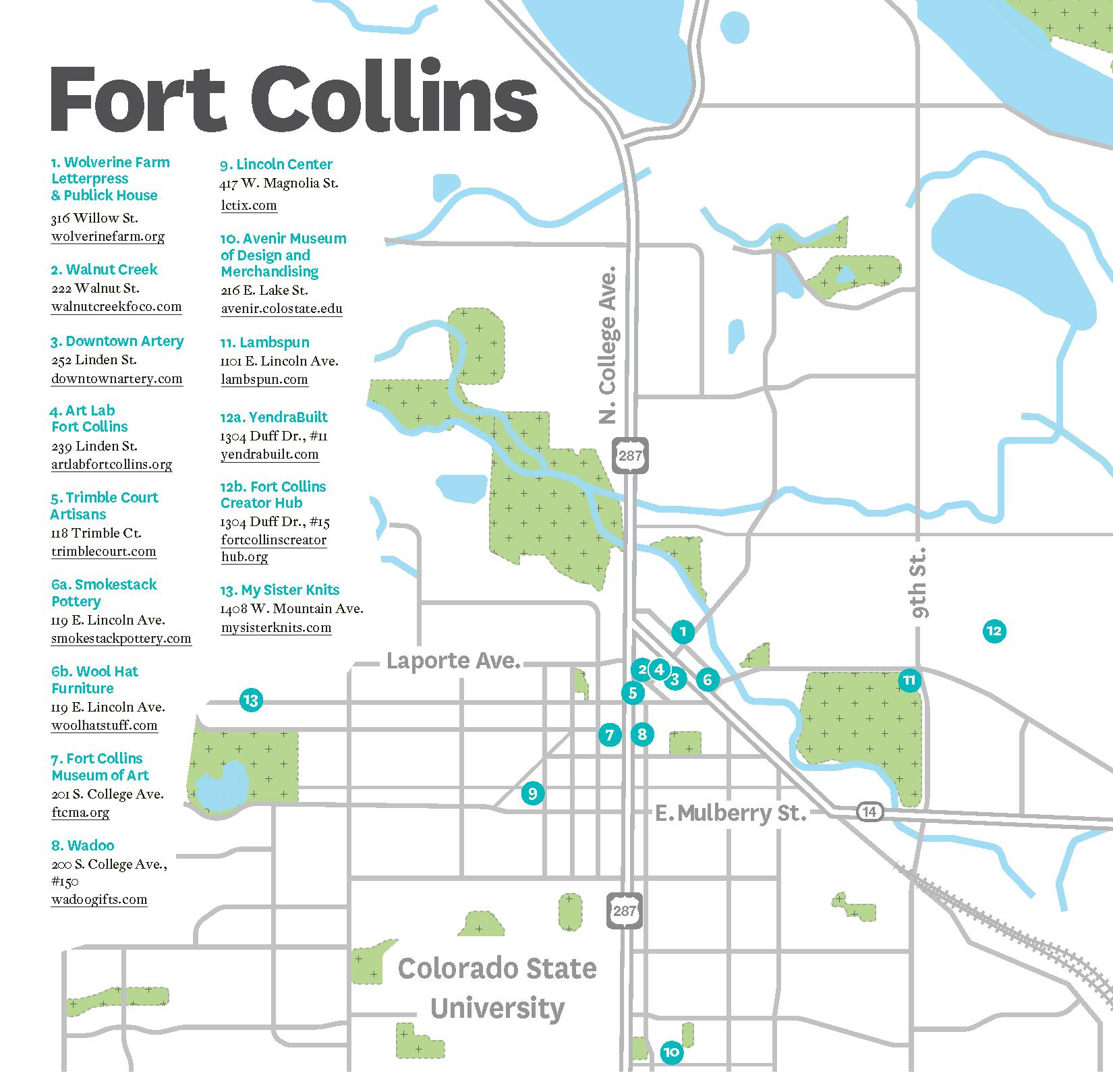 Fort Collins Colorado: Hand In Hand: Fort Collins, Colorado