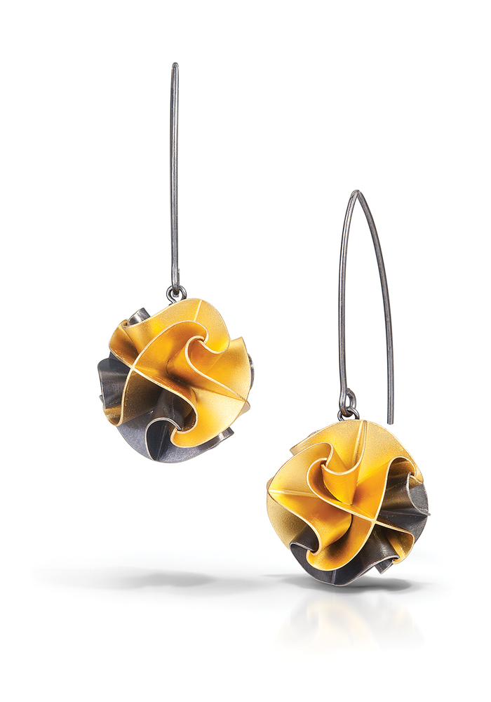 7ca513455 Chihiro Makio Multi Circle Flora Earrings