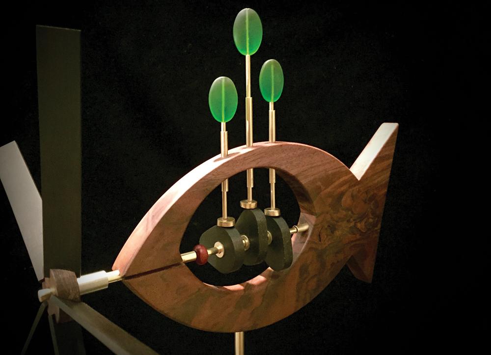 David Winigrad Kelp Garden Whirligig