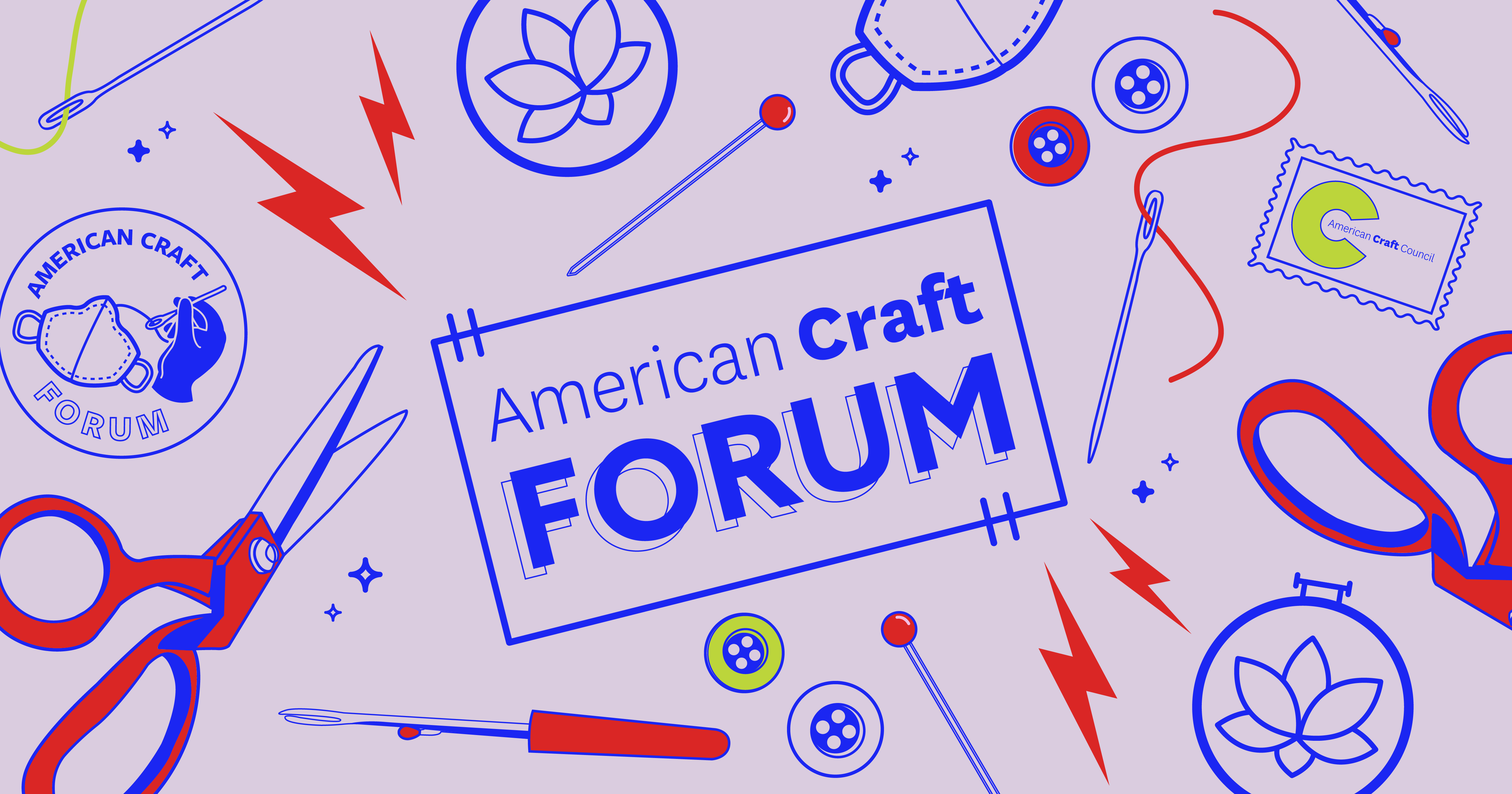 American Craft Forum Second Series Header