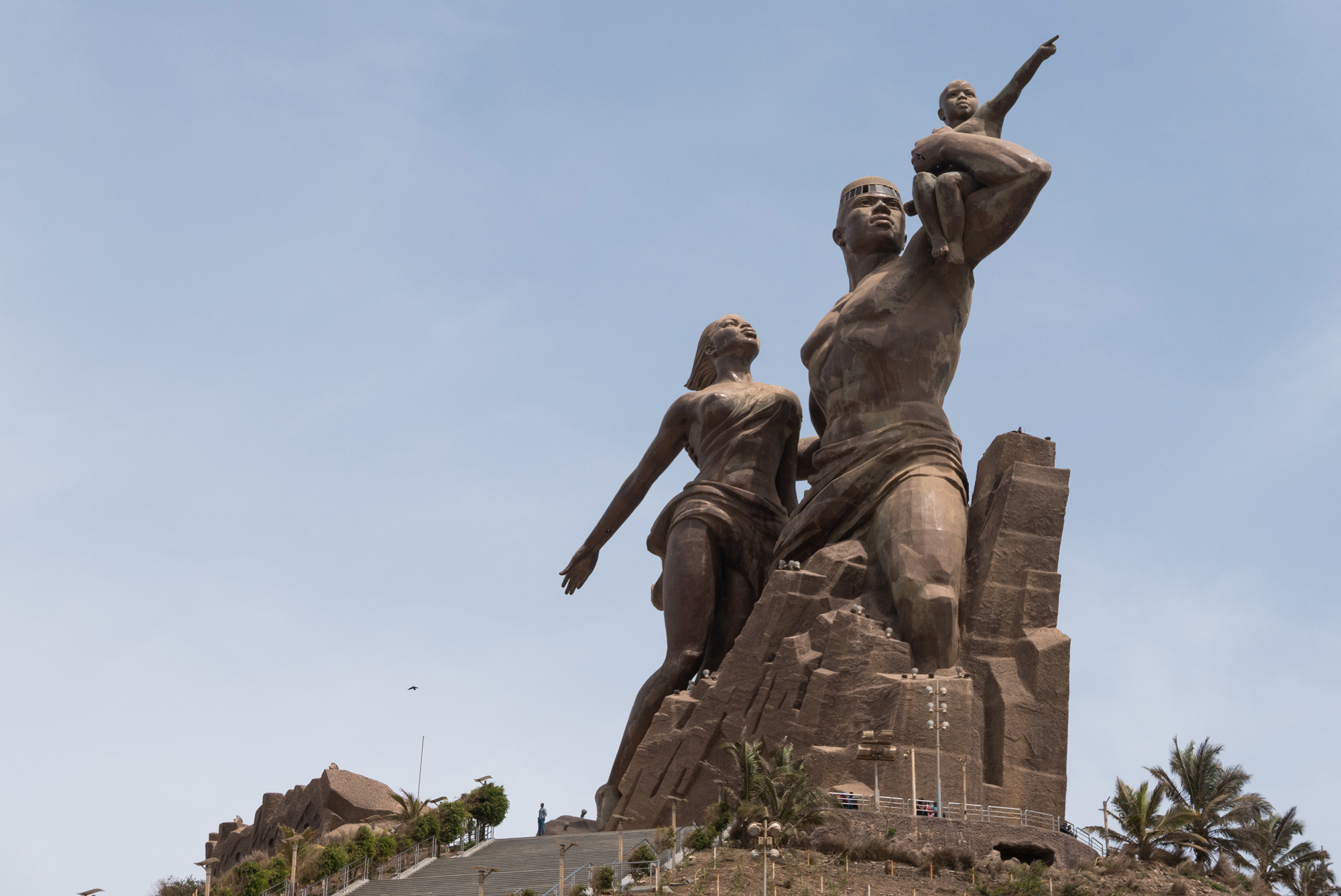 African Renaissance Monument in Senegal