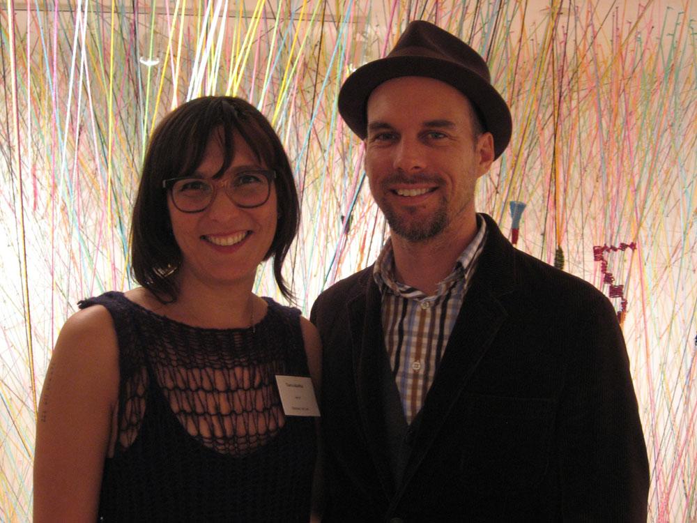 Ackerman And Aguiniga At Cafam American Craft Council