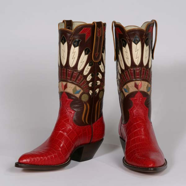 Lisa Sorrell S Handcrafted Cowboy Boots American Craft