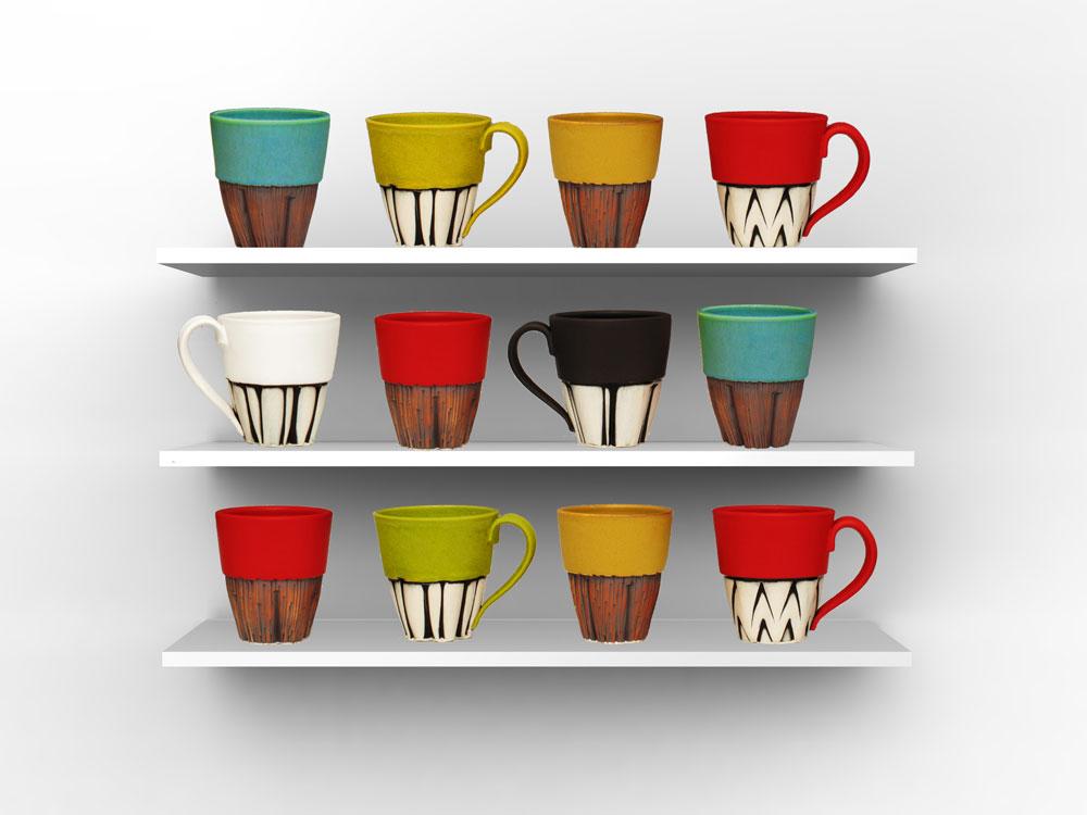 thumbnail clique mugs - Colorful Mugs