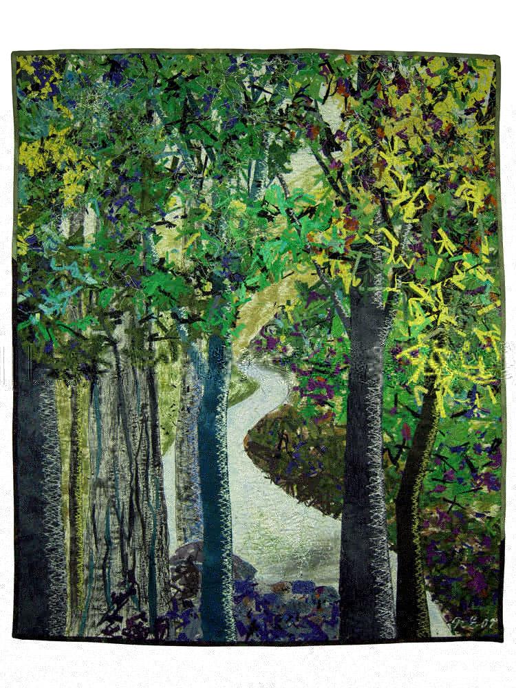 Noriko Endo's Impressionist Quilts | American Craft Council : impressionist quilts - Adamdwight.com