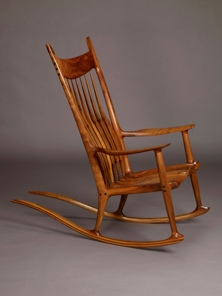 Thumbnail. Sam Maloof; Rocking Chair ...