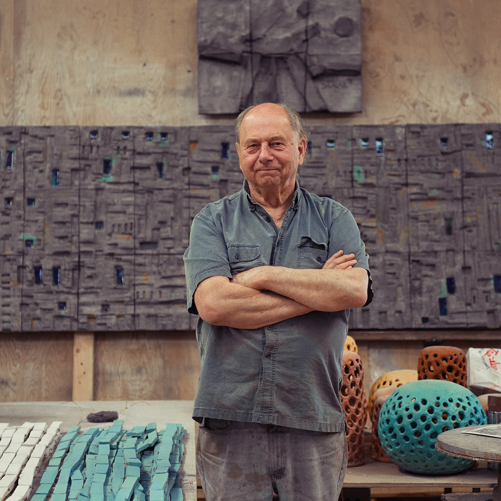 Q A With Sculptor And Ceramist Stan Bitters American Craft Council