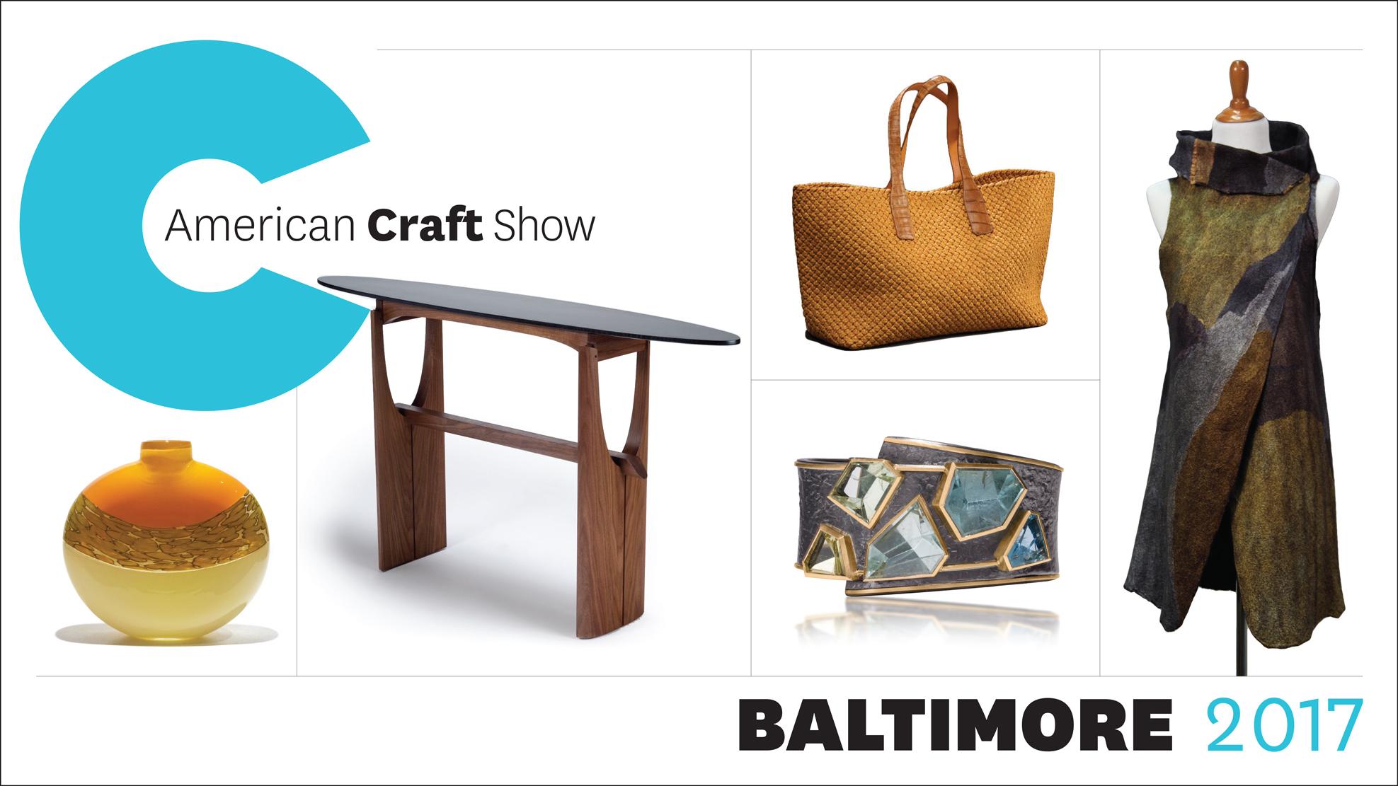 American craft show baltimore 2017 american craft council for American craft council show