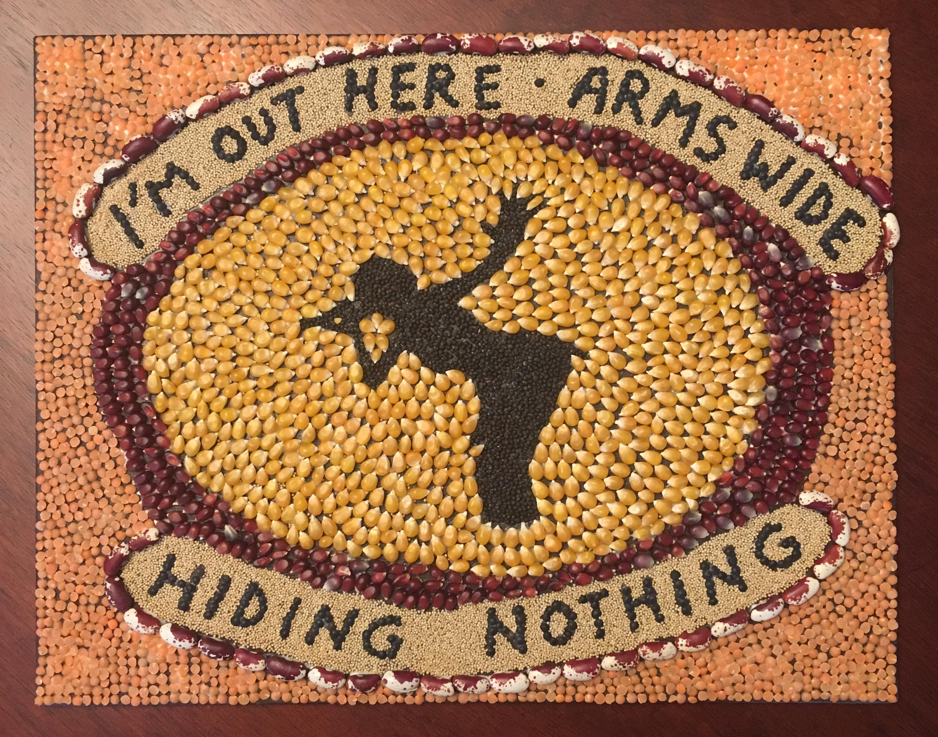 "Seed art of ""5 out of 6"" lyrics by Christy Klancher."