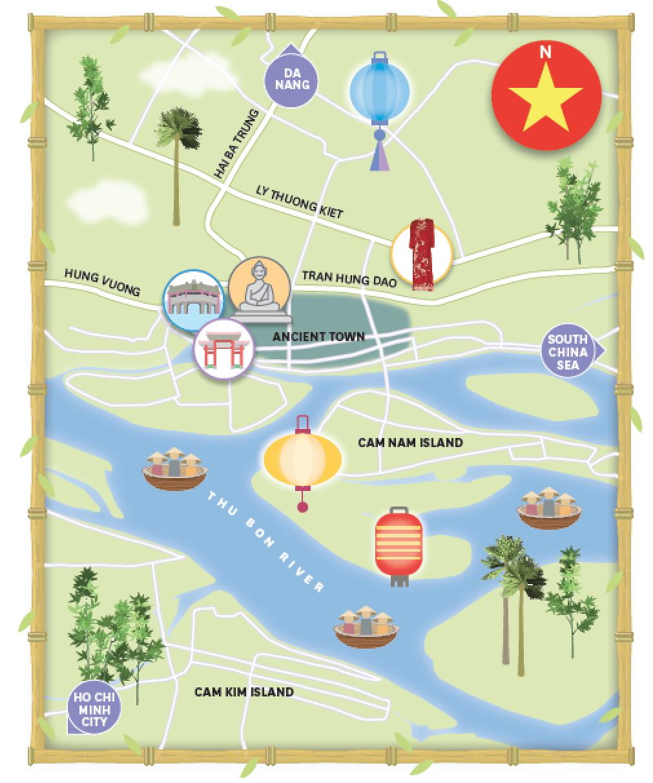 Hoi An map