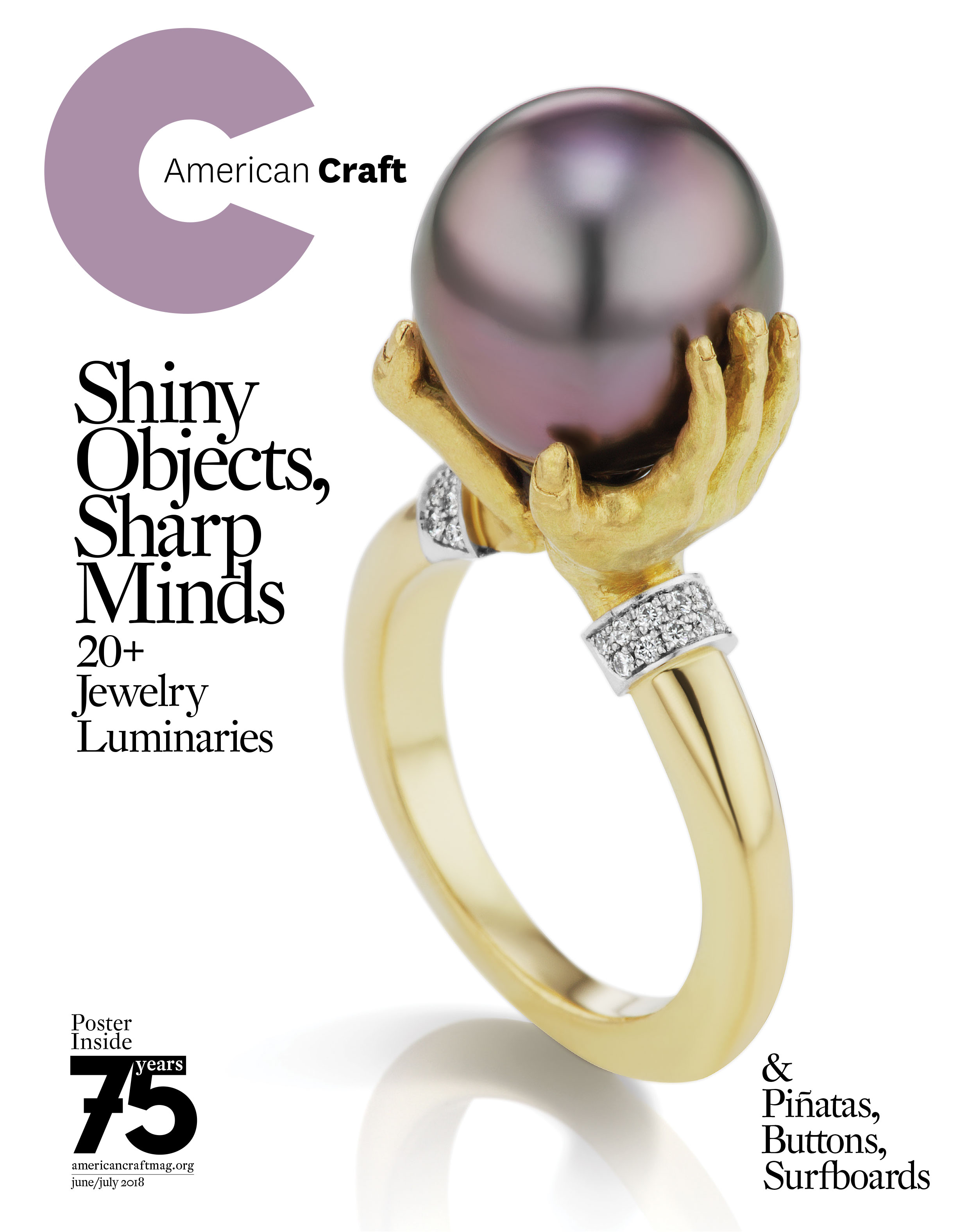 June/July 2018 American Craft cover