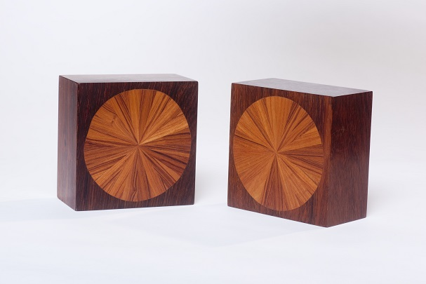 Pair of bookends by Jere Osgood