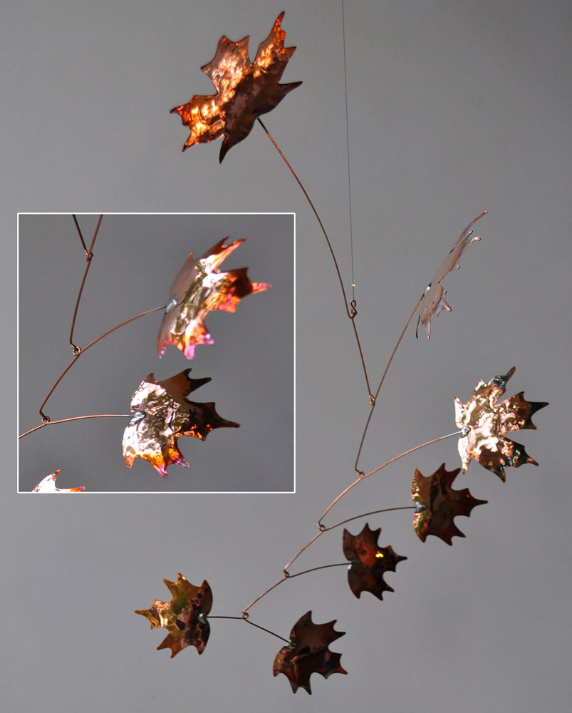 Jay Jones Autumnal Copper Mobiles American Craft Council