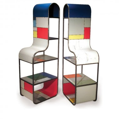 Doug Meyer Multicolor Nightstand Towers
