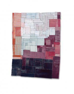 Eleanor Anderson, Wood Quilt #3