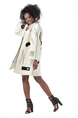 Marylou Ozbolt-Storer statement coat