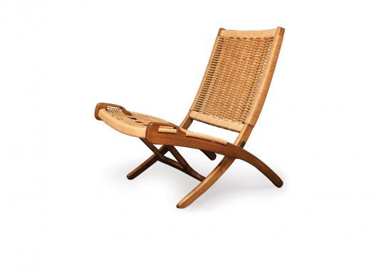 Midcentury Yugoslavian folding chair
