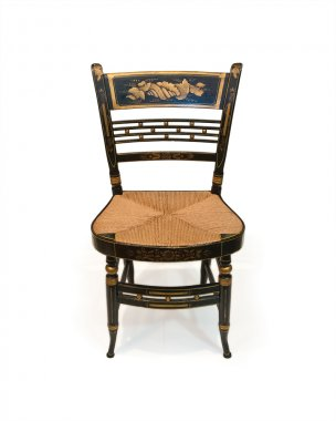 Sheraton fancy side chair