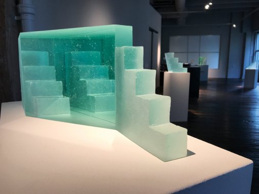 Ann Wolff Glass Stairs
