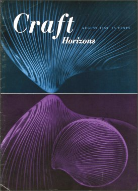 Craft Horizons August 1953 cover