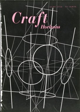 Craft Horizons June 1952 cover