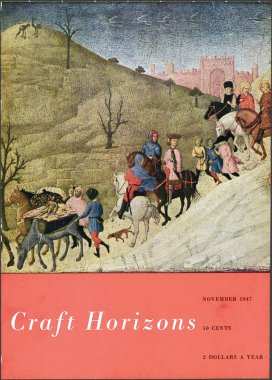 Craft Horizons November 1947 cover