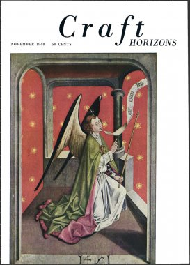 Craft Horizons November 1948 cover