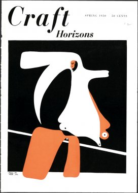 Craft Horizons Spring 1950 cover