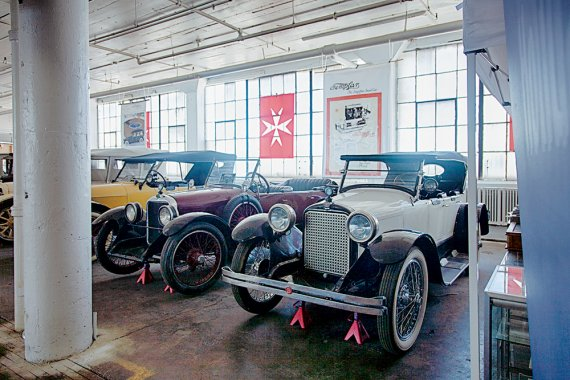 Templar Motors Factory Display