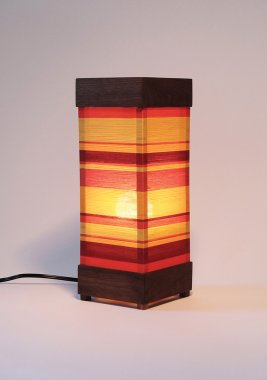 Lopez and Duenas Strata Lamp