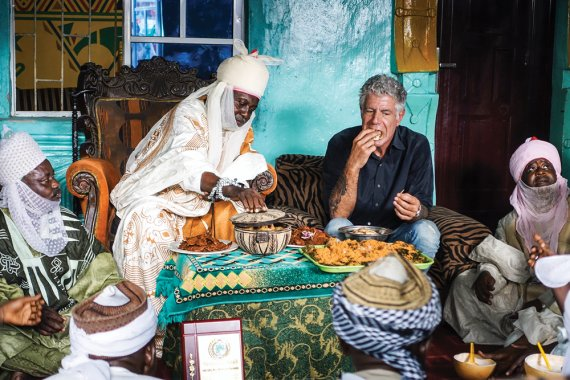 Anthony Bourdain's TV show Parts Unknown