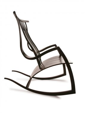 Thomas Hucker Walnut Rocker