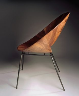 Alison Croney Moses Walnut Chair