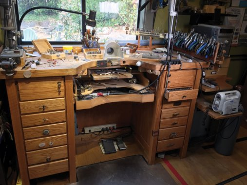 Andy Cooperman workbench