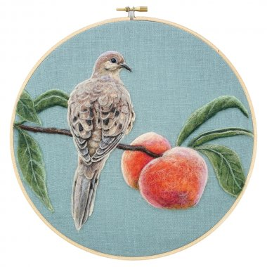 Dani Ives Mourning Dove and Peaches