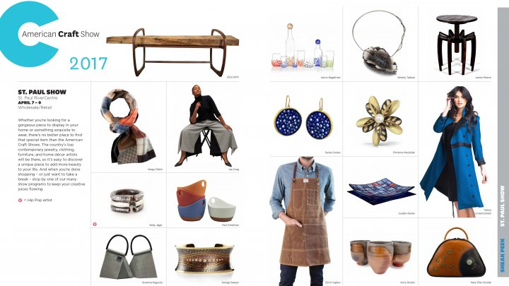 The week in craft april 5 2017 american craft council for American craft council show