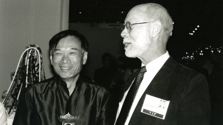 Ron Ho with Lloyd Herman