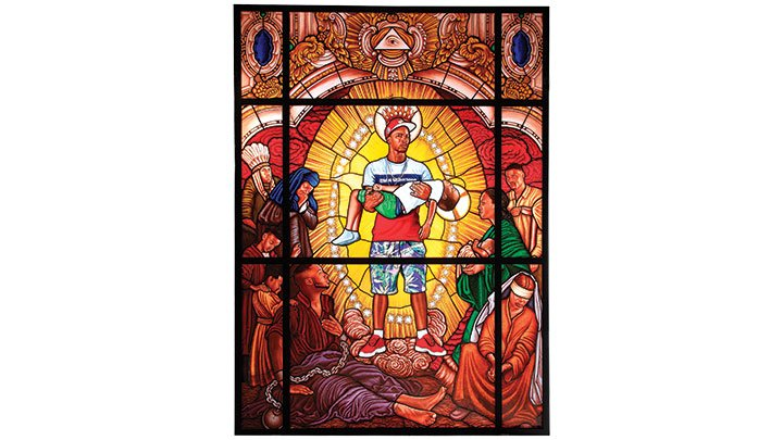 Kehinde Wiley Mary Comforter of the Afflicted II