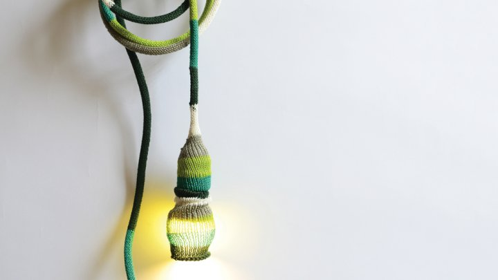 Lopez and Duenas Knot lamp
