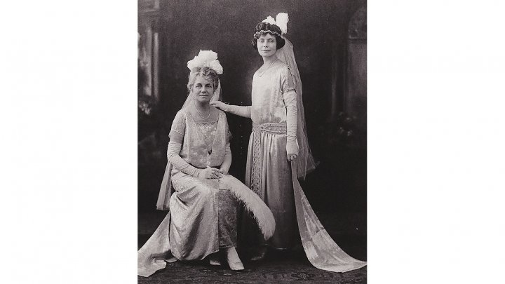Elsie Sweeney and mother