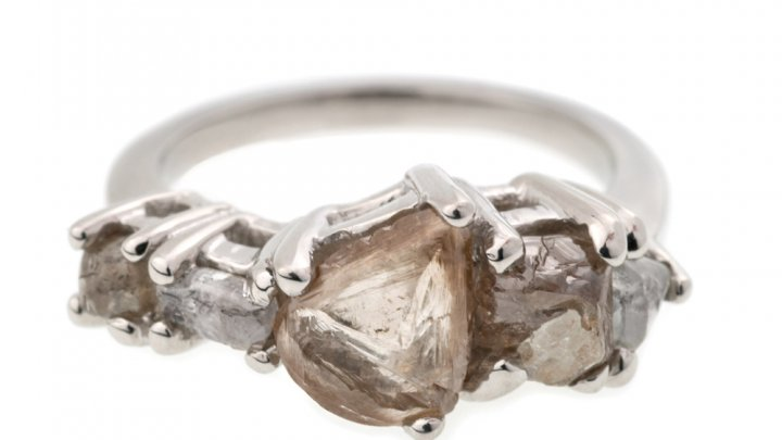 Bario Neal Linear Diamond Ring