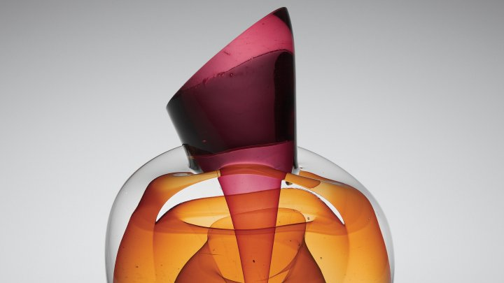 Ruby Conical Intersection with Amber Sphere