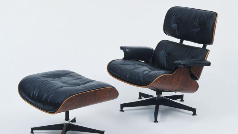 Beau Eames Lounge Chair And Ottoman
