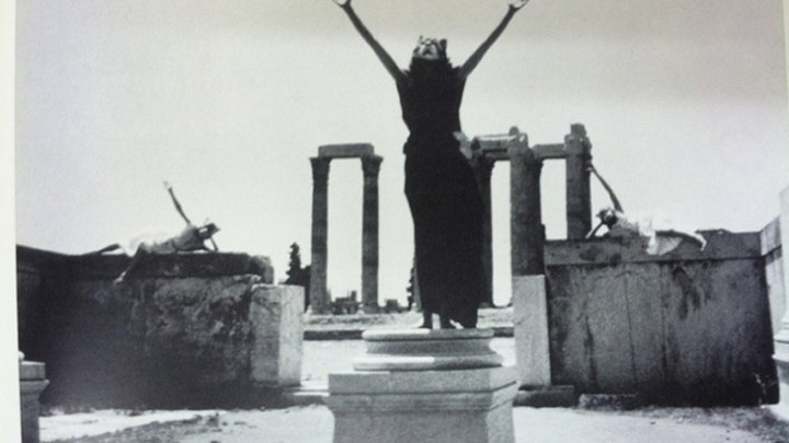 The Great Goddess at the Olympian Temple of Zeus 2 by Jane Ellen Gilmore