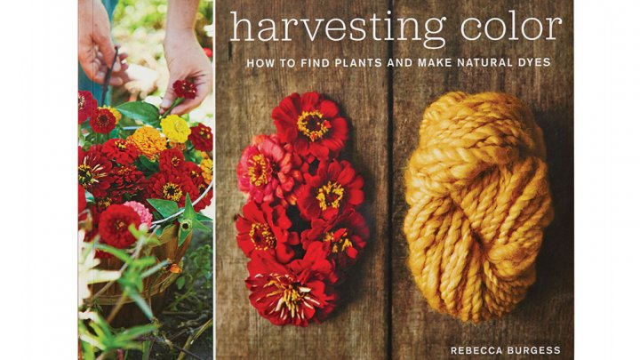 Rebecca Burgess, Harvesting Color: How to Find Plants and Make Natural Dyes – 1
