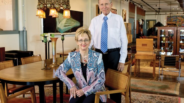 Evelyn Craft Belger and Dick Belger