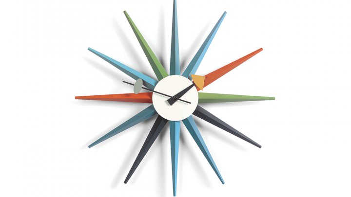 George Nelson, Star-Shaped Clock
