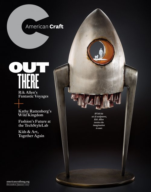 American Craft December/January 2017 cover