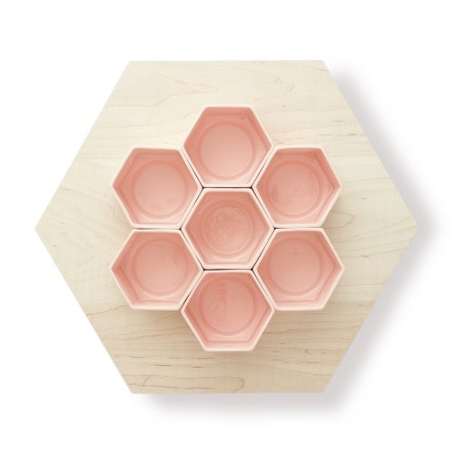 D. Patterson Design Studio Hive cups and serving tray