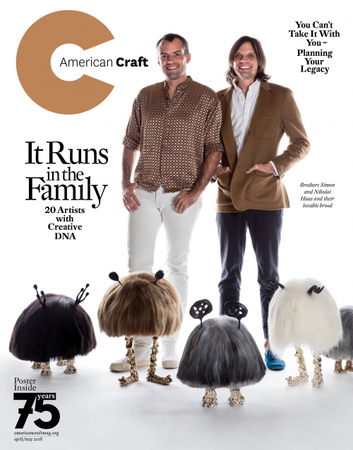 American Craft April/May 2018 cover